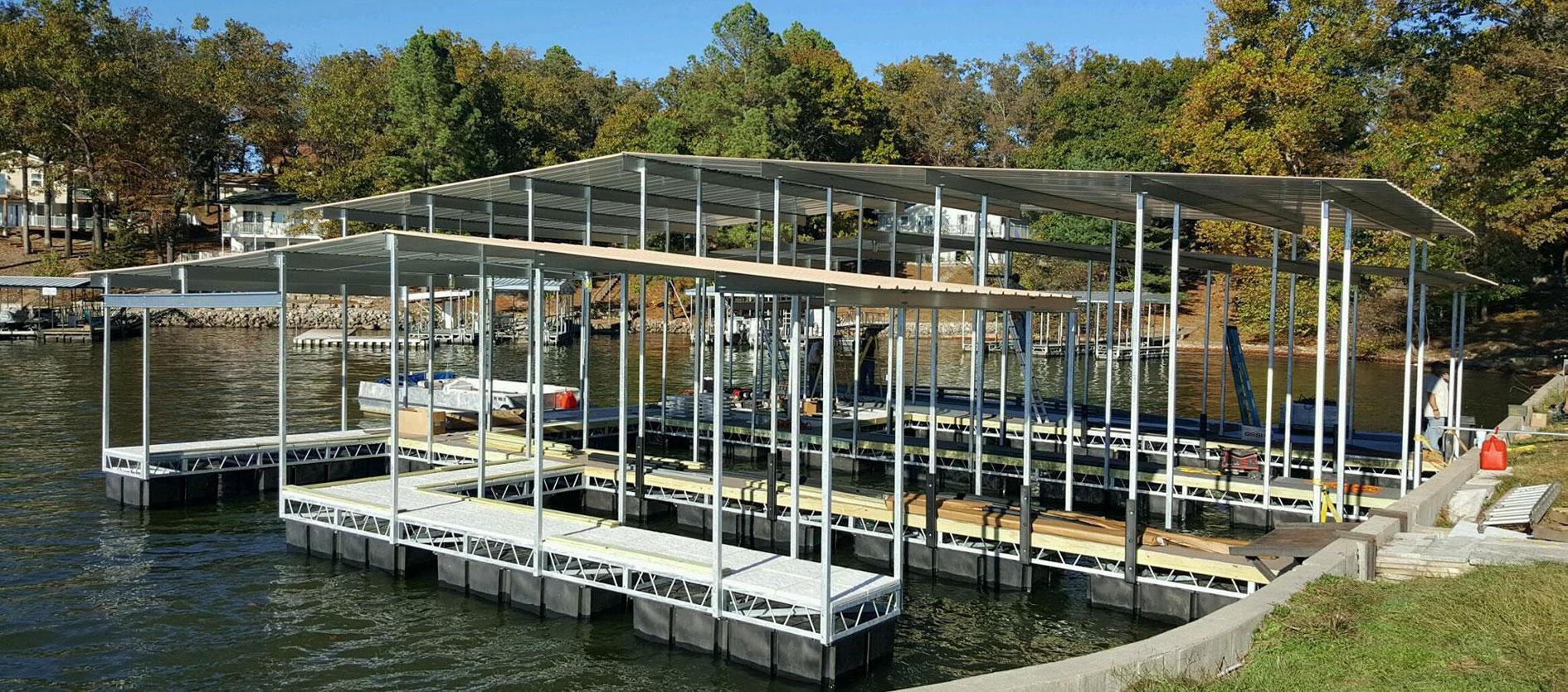 Atlas Docks | Lake of the Ozarks New Residential & Commercial Docks