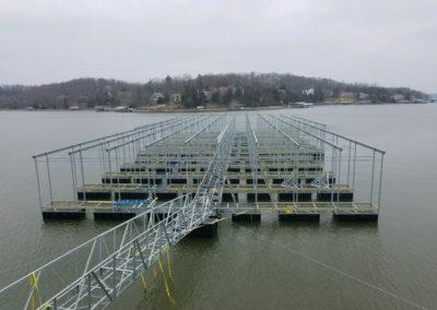 Dock assembly 2